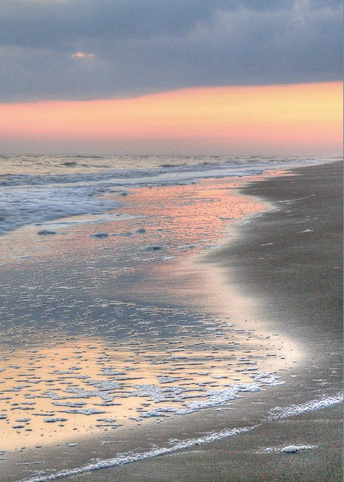 Caswell Beach Greeting Card featuring the photograph Caswell Beach. by JC Findley