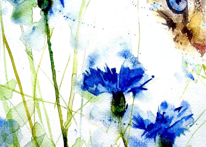 Cornflowers Greeting Cards