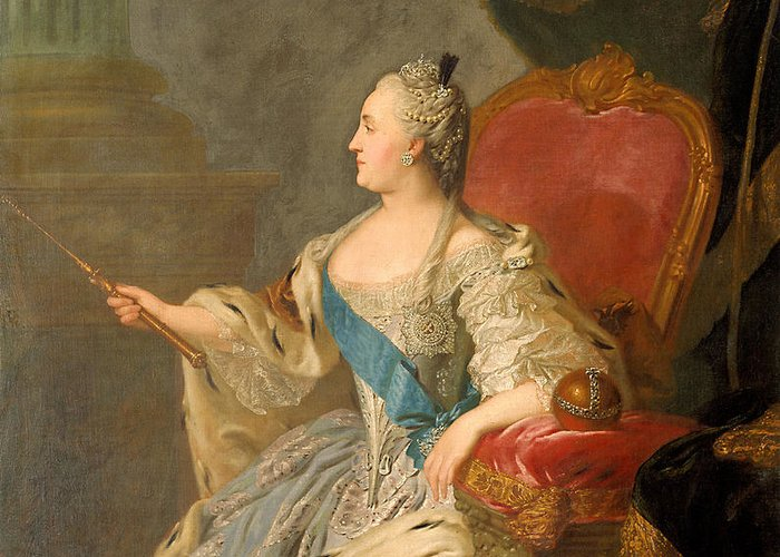 Catherine The Great Greeting Cards