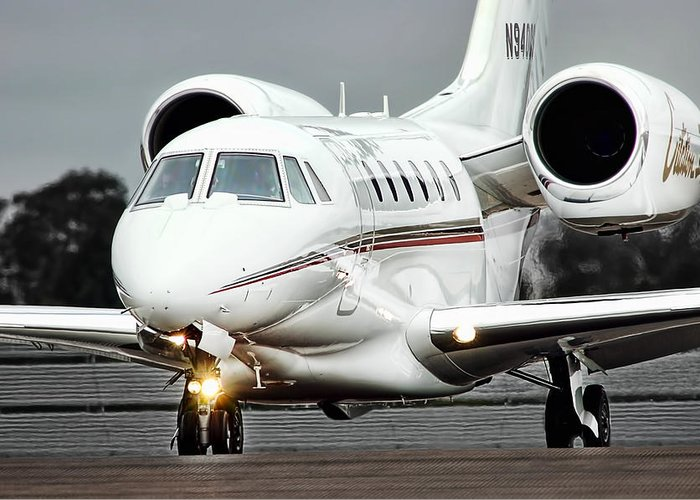 Cessna Citation X Greeting Card