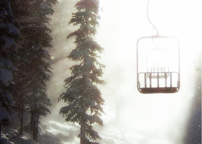 Alpine Greeting Card featuring the photograph Chairway To Heaven by Kevin Munro