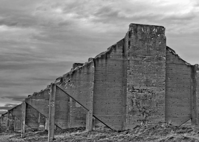 Chambers Bay Greeting Card featuring the photograph Chambers Bay Architectural Ruins II by Tikvah's Hope