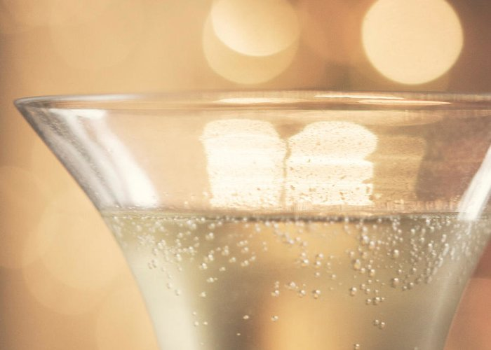 Champagne Greeting Card featuring the photograph Champagne Celebration by Kim Fearheiley