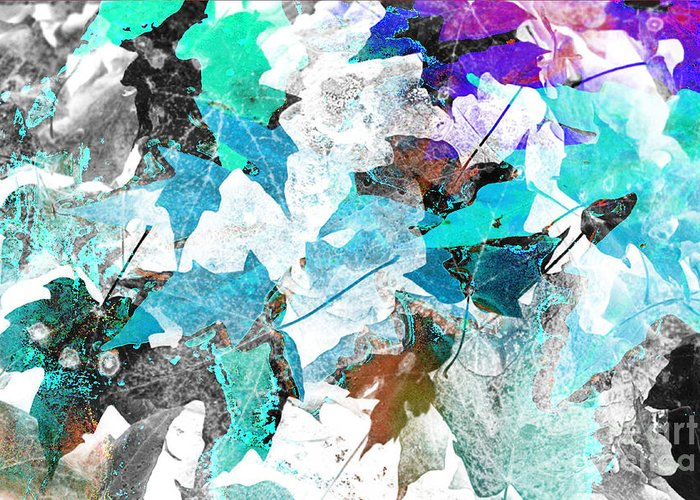 Digital Art Abstract Greeting Card featuring the digital art Change Is On The Way by Yael VanGruber