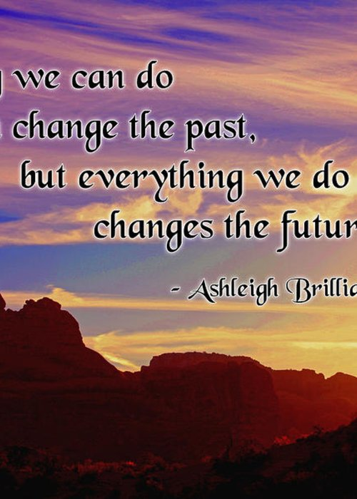 Changing The Future Greeting Card featuring the photograph Changing The Future by Mike Flynn