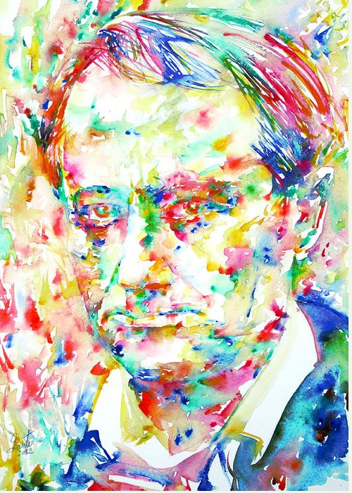 Charles Baudelaire Greeting Cards