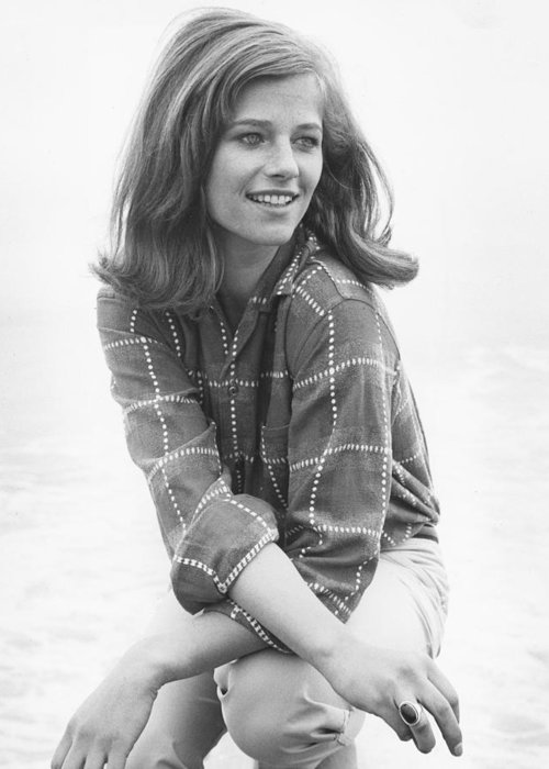 Charlotte Rampling Greeting Card featuring the photograph Charlotte Rampling by Silver Screen