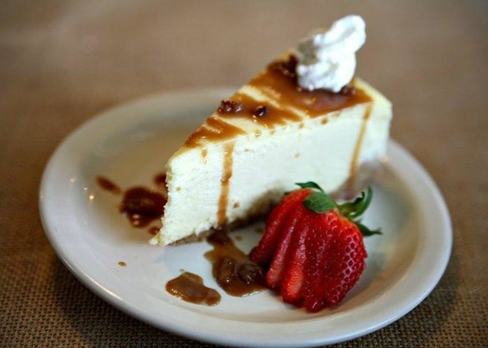 Cheese Greeting Card featuring the photograph Cheesecake by J Williams