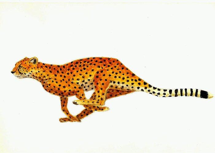 Cheetahs Greeting Cards