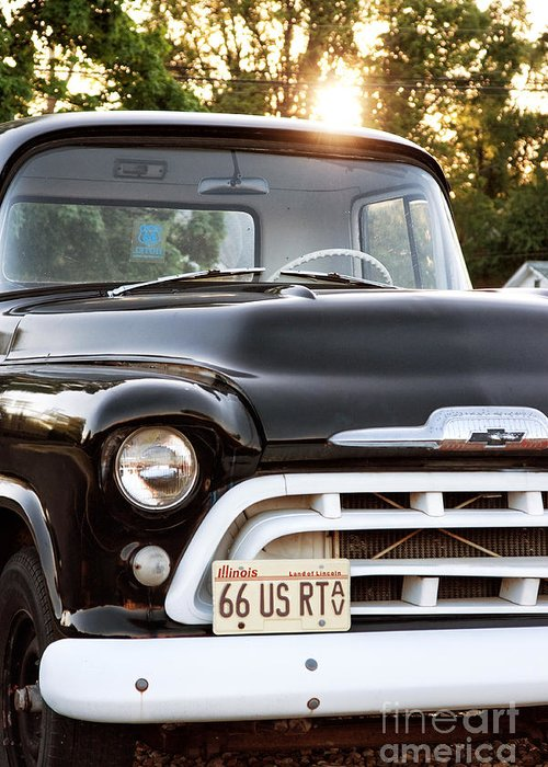 Chevy Truck Greeting Card featuring the photograph Chevy Truck by John Rizzuto