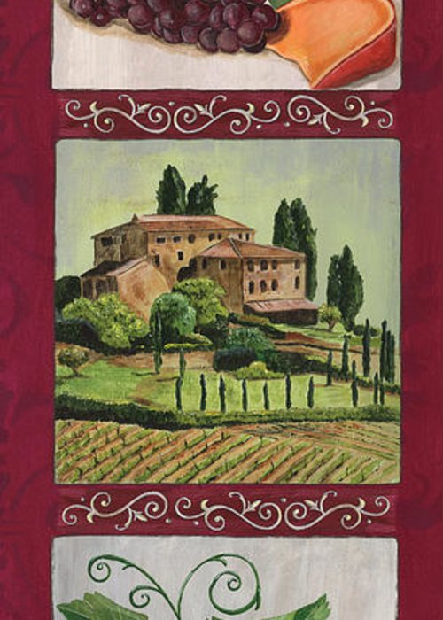 Grape Vine Greeting Cards