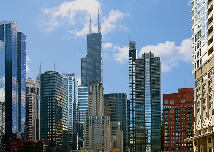 Chicago Greeting Card featuring the photograph Chicago - It's Your Kind Of Town by Christine Till