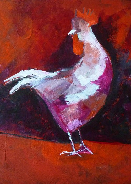 Chicken Portrait Greeting Cards