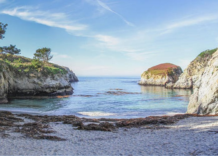 China Cove Greeting Card featuring the photograph China Cove Point Lobos by Brad Scott