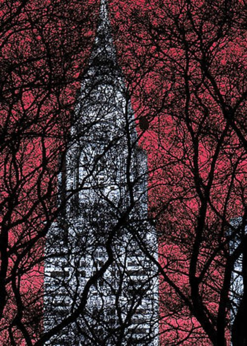 Nyc Greeting Card featuring the photograph Chrysler Building 8 by Andrew Fare