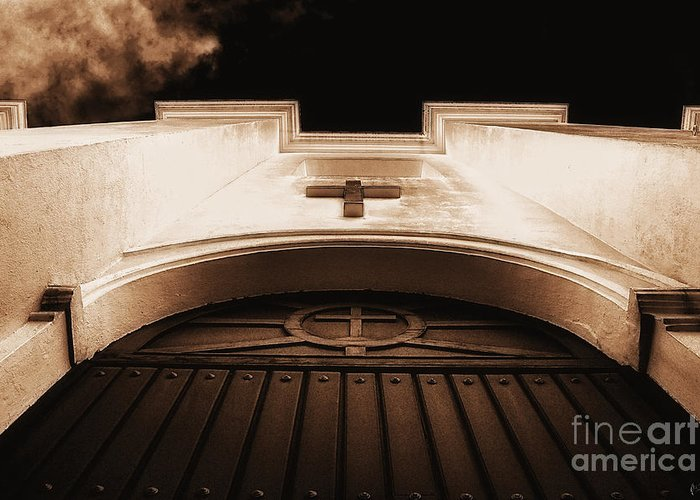 Awsome-image Greeting Card featuring the photograph Church by H Scott Cushing
