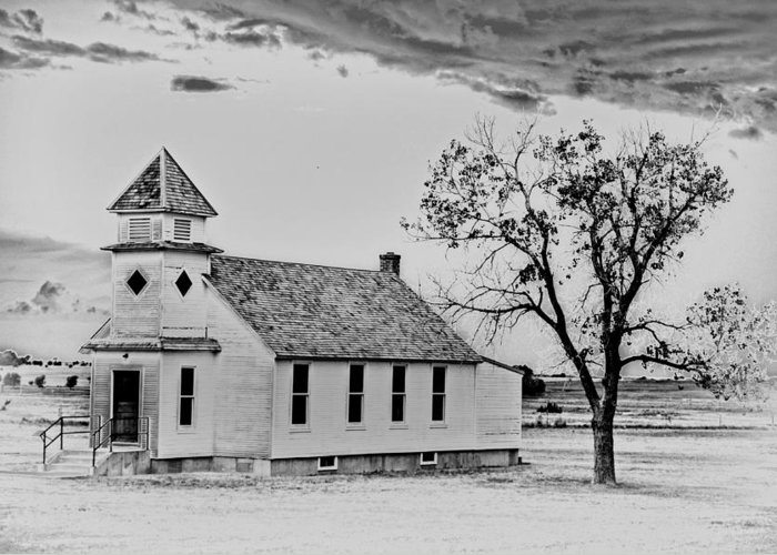 Church Greeting Card featuring the photograph Church On The Plains by Marty Koch