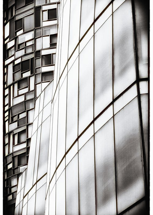 Glass Greeting Card featuring the photograph Class And Glass by Russell Styles