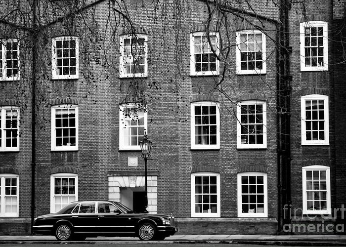 Architecture Greeting Card featuring the photograph Classy London by Lana Enderle