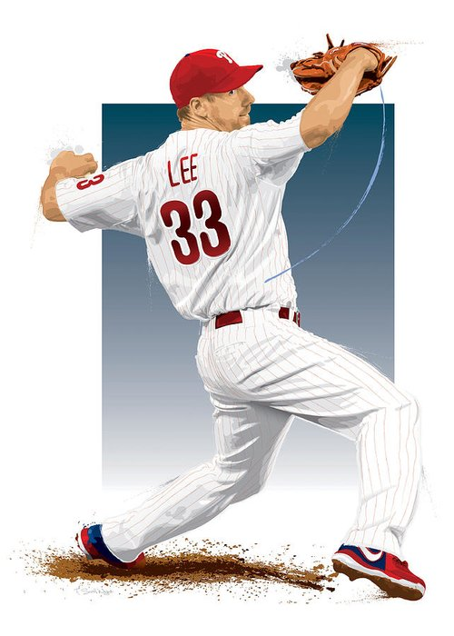 Cliff Lee Greeting Cards