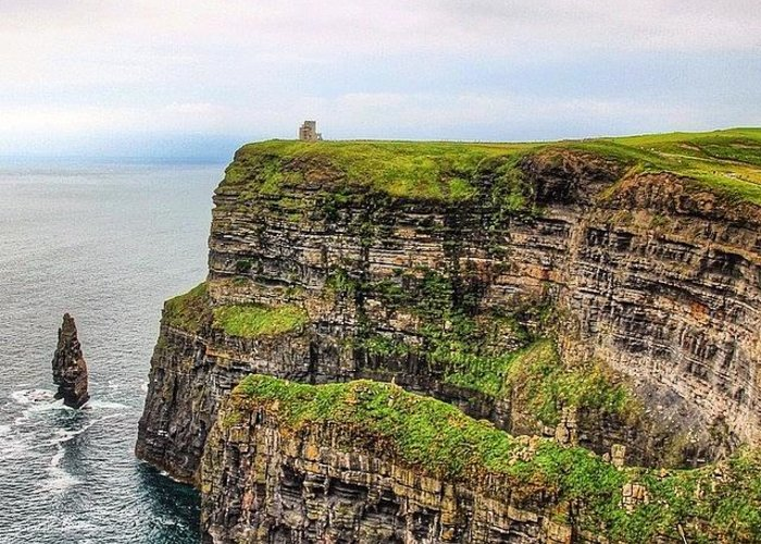 Europe Greeting Card featuring the photograph #cliffsofmoher #ireland #landscape by Luisa Azzolini