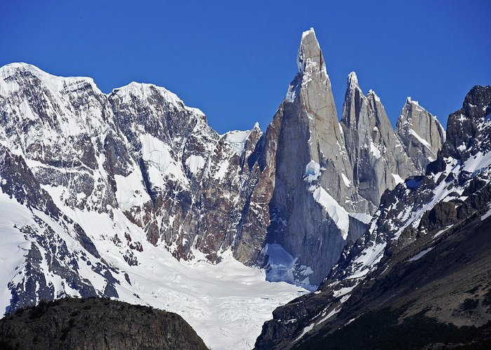 Argentina Greeting Card featuring the photograph Climber's Delight by Michele Burgess