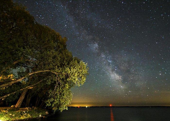 Matt Molloy Greeting Card featuring the photograph Cloud Of Stars by Matt Molloy