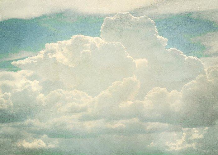 Brett Greeting Card featuring the digital art Cloud Series 2 Of 6 by Brett Pfister
