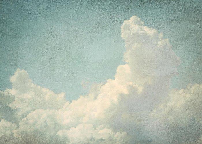Brett Greeting Card featuring the digital art Cloud Series 4 Of 6 by Brett Pfister