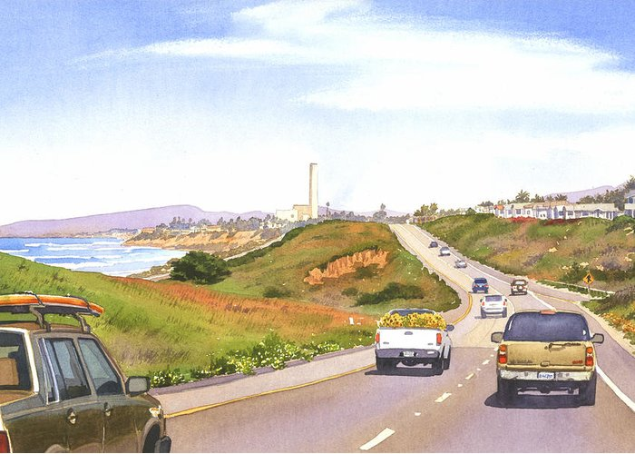 Pacific Coast Highway Greeting Cards