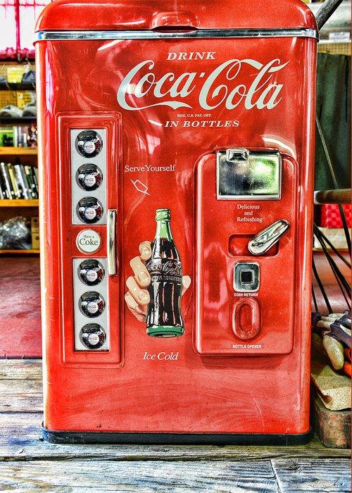 Coca Cola.coke-a-cola Greeting Cards