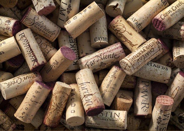 Wine Cellar Art Greeting Cards