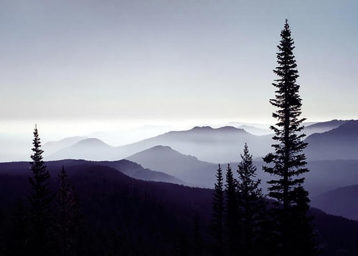3scape Photos Greeting Card featuring the photograph Colorado Haze by Adam Romanowicz