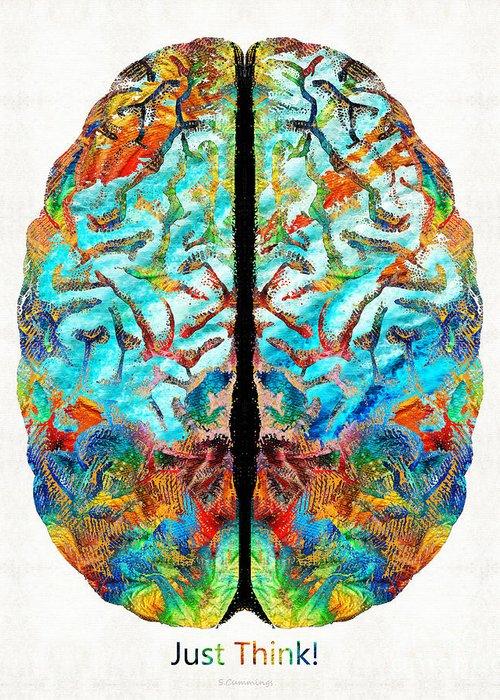 Brain Power Greeting Cards