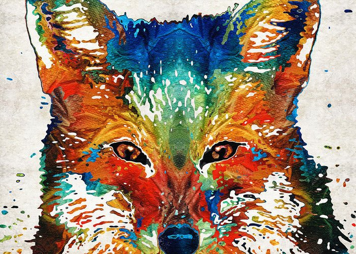 Foxy Greeting Cards