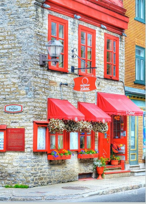Quebec Greeting Card featuring the photograph Colors Of Quebec 16 by Mel Steinhauer