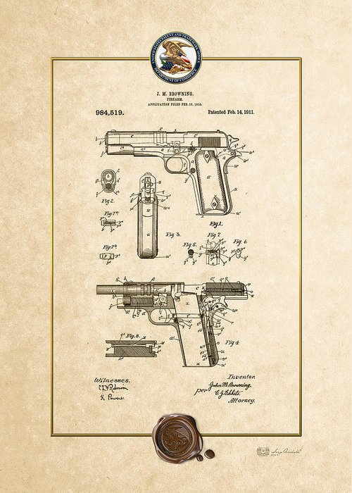 M1911a1 Greeting Cards