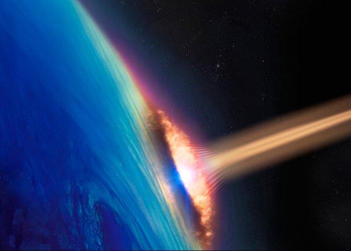 Satellite Image Greeting Cards
