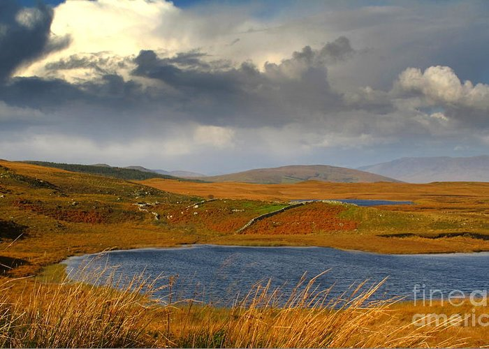 Nature Photography Greeting Card featuring the photograph Connemara At Its Best by Annie Japaud