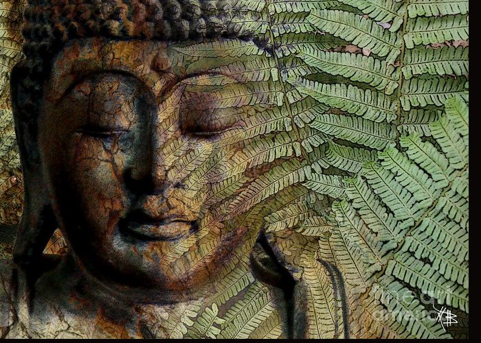 Buddha Art Greeting Card featuring the photograph Convergence Of Thought by Christopher Beikmann