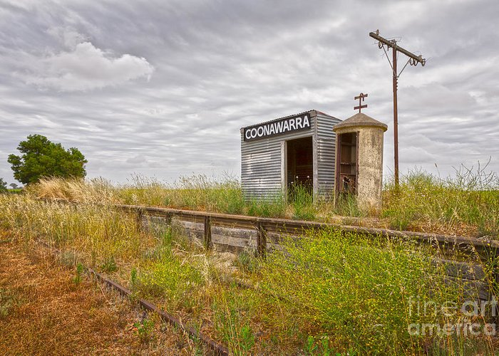Coonawarra Greeting Card featuring the photograph Coonawarra Station South Australia by Colin and Linda McKie