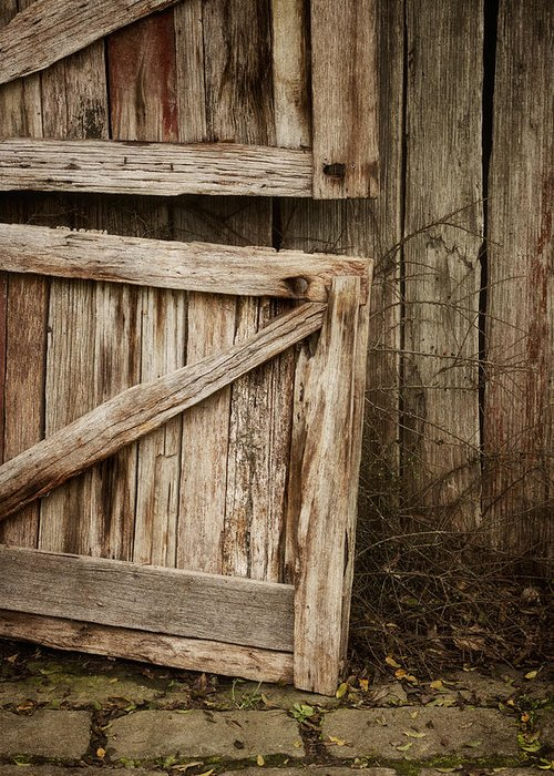 Barn Greeting Card featuring the photograph Country Charm by Amy Weiss