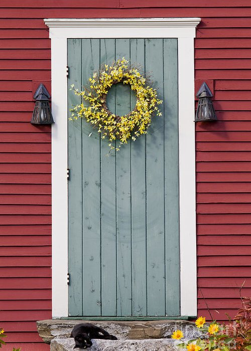 Country Greeting Card featuring the photograph Country Door by Alan L Graham  sc 1 st  Fine Art America : coutry door - pezcame.com