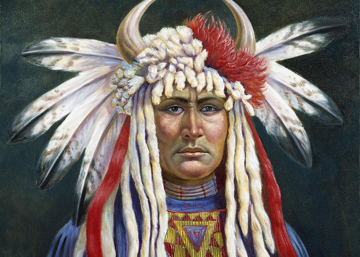 Oglala Lakota Art Greeting Cards