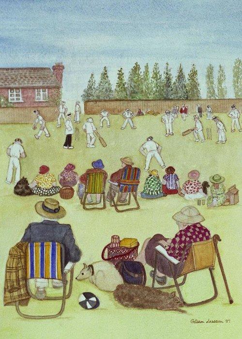 British Cricket Greeting Cards