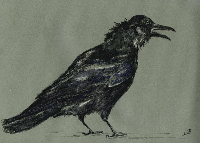 Corvus Greeting Cards