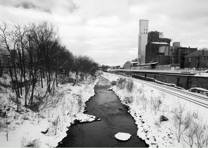 Kent Greeting Card featuring the photograph Cuyahoga River by Nikolas Kolenich