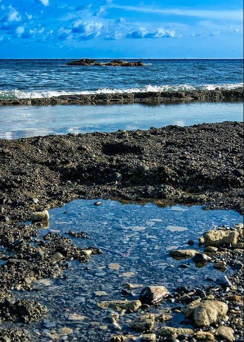 Beach Greeting Card featuring the photograph Cuzco Beach 7 by Christian Schroeder
