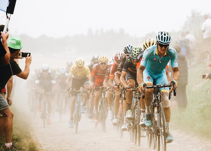 Designs Similar to Cycling In The Dust