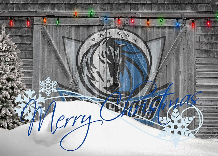 Mavericks Greeting Card featuring the photograph Dallas Mavericks by Joe Hamilton